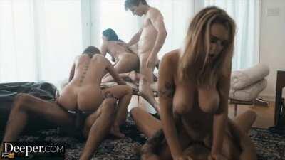 Gabbie Carter, Riley Reid & Vicki Chase 💝