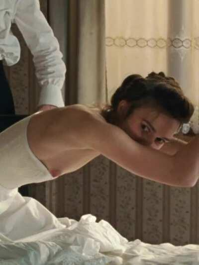 Keira Knightley tied up and getting a spanking