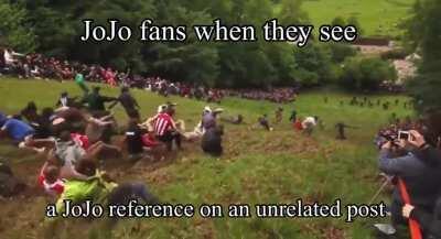 JoJo fans when