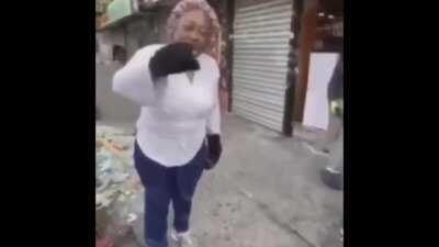 African American Woman's Store Gets Destroyed In Riots