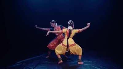 Purusha and Prakriti , a celebration of male and female energies (Shiva and Parvati) in Kuchipudi style (full video in comments)
