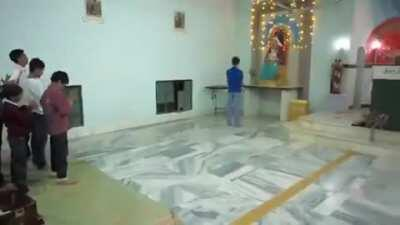 Yeshu gets converted in India. Soon we will be exporting this bhakti outside