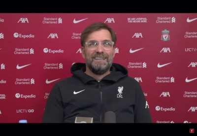 Klopp learning a new word