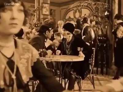 This shot from the movie Wings (1927) is too good for it's time