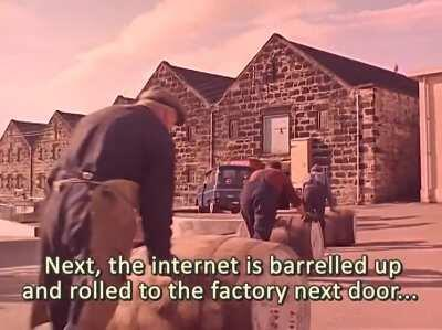 How the Internet is made in Ireland.
