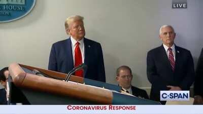 Watch the President red pill the reporters on covid response (circa April 2020 colorized)