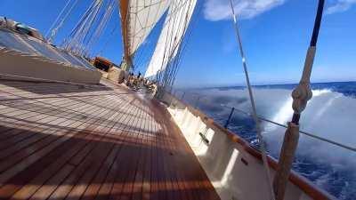 Schooner Atlantic on another crew sail today!