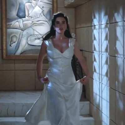 Jennifer as Jenny Blake in The Rocketeer