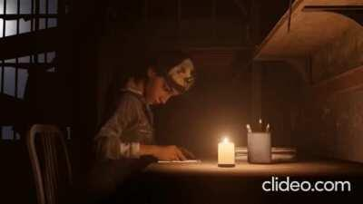 Clem Studying (Creator In Comments I just Added New Music) Sorry It Cuts Out
