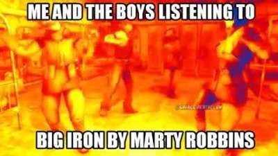 Nothing beats Big Iron