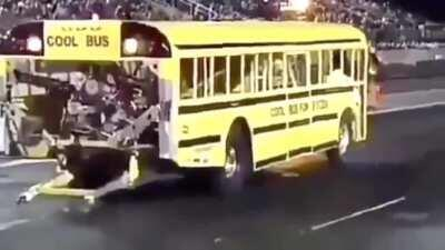 Bitch I'm the cool bus