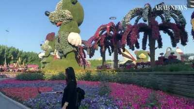 The Pakistani who made the desert bloom — Dubai Miracle Garden