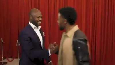 Chadwick Boseman surprising his fans on Jimmy Fallon will always be one of the most wholesome videos on the internet. What a legend.