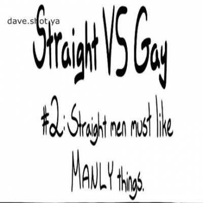 Straight vs Gay