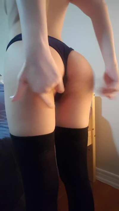 My first panty peel :)