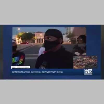 A call to action and peace from protesters on ABC15