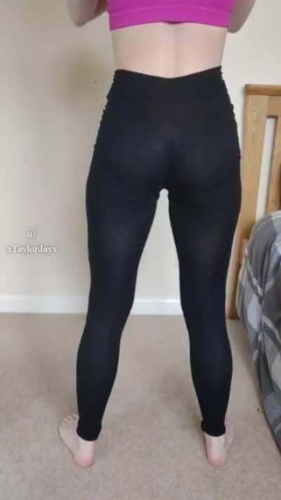 I think the guys in my gym love it when I squat in these