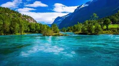 Beautiful Norway Lake
