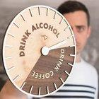 I design stupid product ideas, so I made the Drink O'Clock to tell you all you really need to know from a clock.