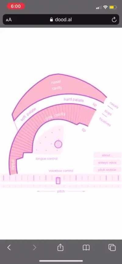 Pink trombone time