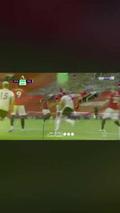 Pogba dribble against Sheffield United