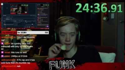 Pringle speed run