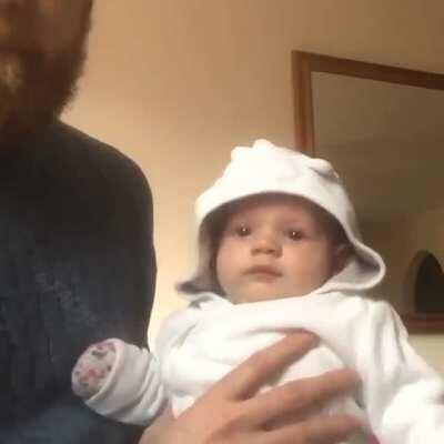 Moona's coca cola cover stops babies crying