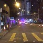 Hong Kong Police arrested protesters heading to hospital in an ambulance