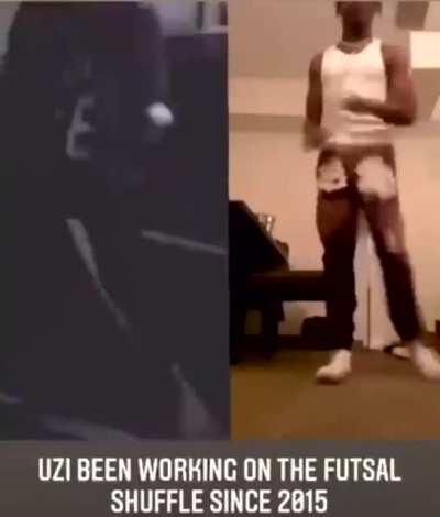 Uzi has been working on the Futsal Shuffle since 2015
