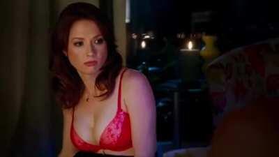 Ellie Kemper in Brenda Forever (AI enlarged and slowed)