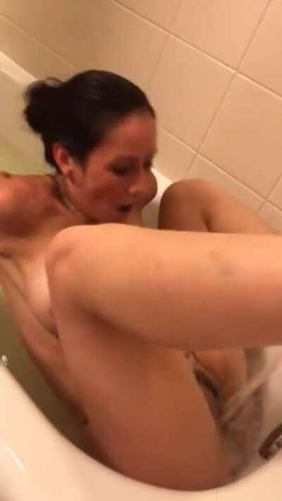 Hot Milf Having Wild Orgasm In Bath