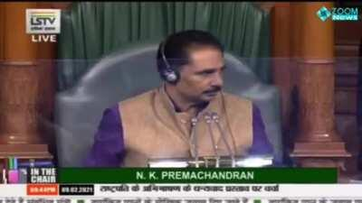 "Congress MP caught LYING in Parliament. Initially claims there is a clause in the Farm Bills that says ""Mandis will be scrapped and new private mandis will be created"". When Union Minister Anurag Thakur asks him to specify the clause in the bill that ment"