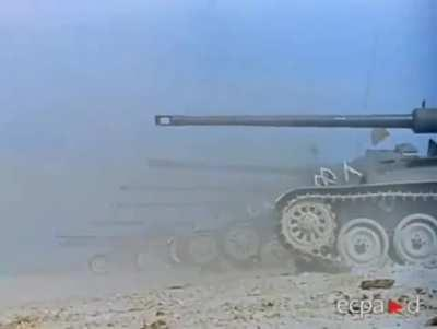 AMX 13 firing demonstration. The AMX 13 had 2 revolver like magazines, each loaded with 6 shot. This allowed the Tank to shoot 10 times in 1 minute. During the six day war, an Israeli AMX 13 destroyed 7 Jordanien M48 like a gunslinger in a western movie.