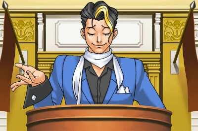 Me expressing my love for the new objection.lol update through ace attorney characters
