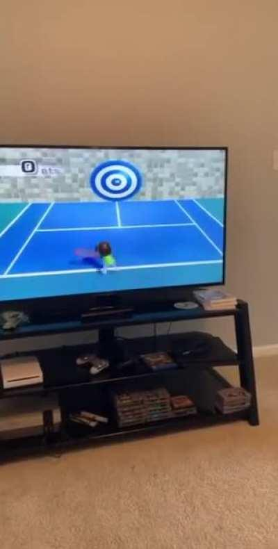 Perfectly cut Wii