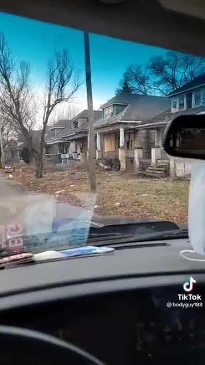 Detroit Michigan has some dark corners