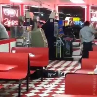 bitch slapped