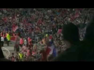 Cantona Goal vs Liverpool FA Cup Final 1996