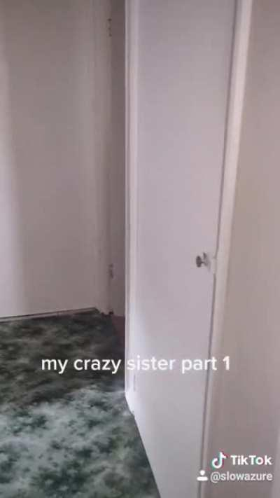 Guy has crazy sisters!