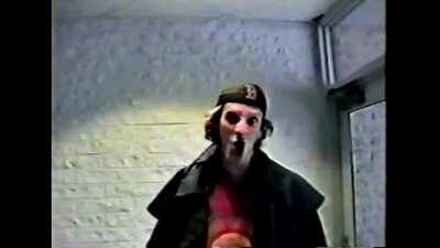 """The infamous part of Eric & Dylan's """"Hitmen for Hire"""" home video, recorded in December 9th, 1998 inside CHS."""