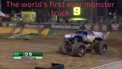 Just the monster truck front flip!