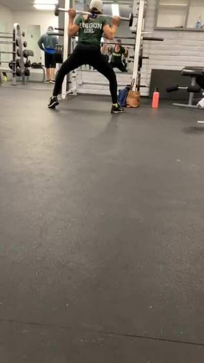 Form check, squatting to depth??