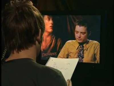 Wholesome prank interview with Elijah Wood