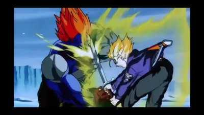 Would love a standalone Fusion Android #13 with this as a counterattack animation (repost with better quality)