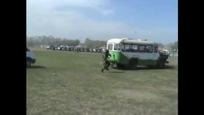 SWAT training in Kazakhstan.