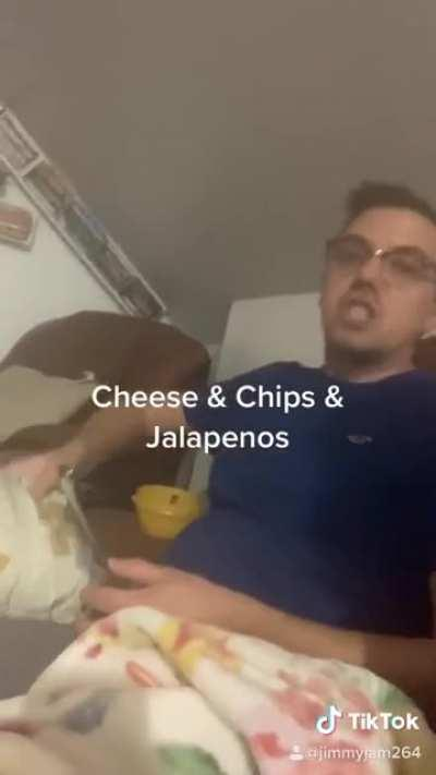 Cheese & Chips & Jalapeños