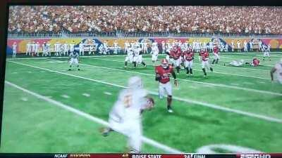 The 22 yard Fumble Pass! (I was UGA)