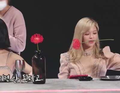 Jeongyeon & the rose