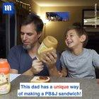 Dad follows kids' instructions very literally