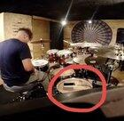 WCGW if I play drums with my phone on the kit?